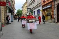Aktivisti za životinje performansom pozvali Dom naroda na saosjećanje