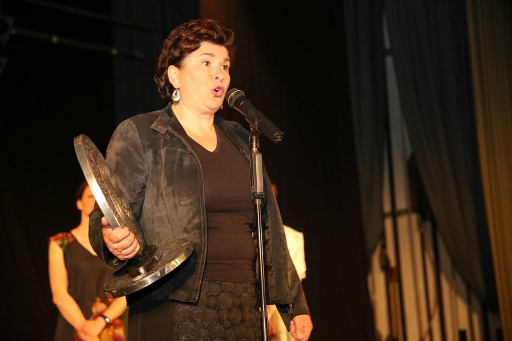 Nagrada na festivalu 'Osmijeh Sarajeva' Jasni Žalica - Foto Adnan Lingo