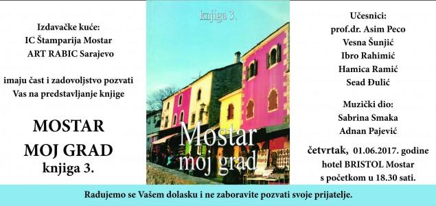 """Promocija treće knjige iz serijala """"Mostar – moj grad"""""""