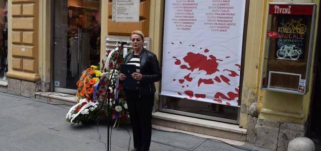 Obilježena 25. godišnjica masakra građana Sarajeva koji su poginuli u redu za hljeb u ulici Ferhadija