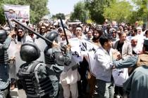 Antivladini protesti u Kabulu