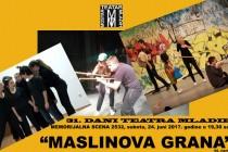"""I """"Maslinova grana"""" na 31. Danima teatra mladih"""