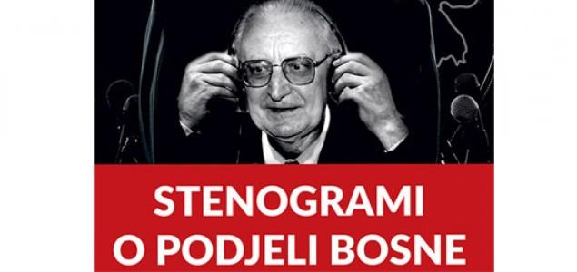 """Promocija knjige """"Stenogrami o podjeli Bosne"""" u Mostaru"""