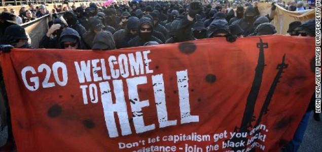 Nemiri u Hamburgu: Povrijeđeno blizu 200 policajaca, zapaljena vozila, opljačkane prodavnice…