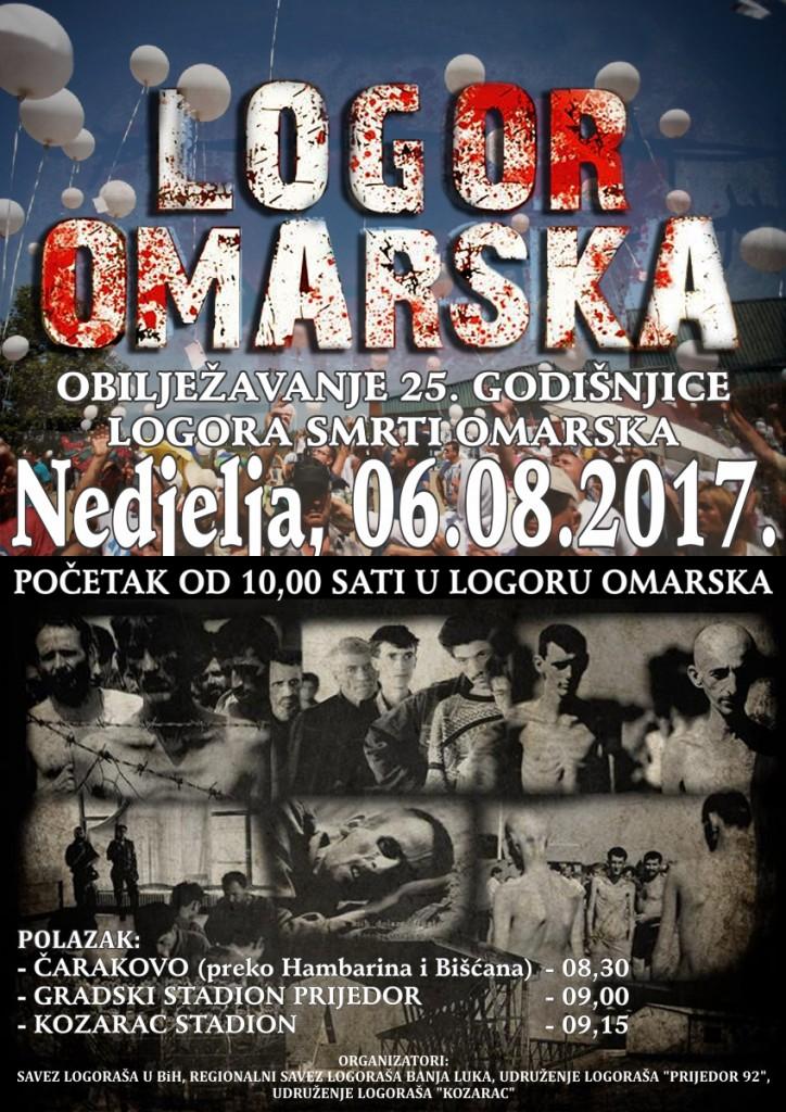 Plakat Omarska 2017