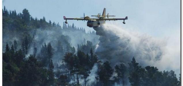 Požari bukte Dalmacijom, izdata uzbuna za sve vatrogasne snage u Hrvatskoj