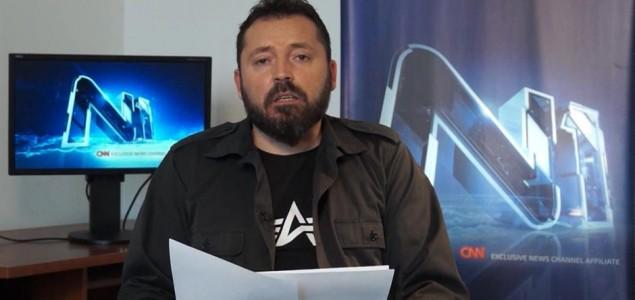Uhapšen muškarac zbog sumnje da je prijetio Draganu Bursaću