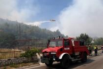 Požar u Nacionalnom parku Krka