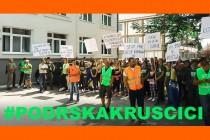 Poziv na protest podrške Kruščici