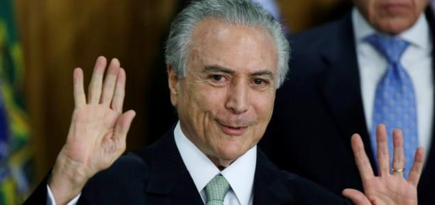 Sud u Brazilu ponovo odredio pritvor bivšem predsjedniku Temeru