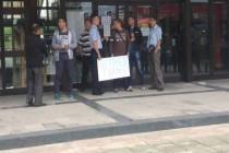 Radnici Željeznica RS nastavljaju štrajk glađu, šesti dan
