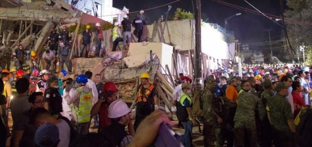 Više od 200 ljudi poginulo u zemljotresu u Meksiku
