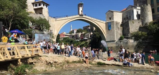 Carlton i Hunt pobjednici Red Bull Clif Diving takmičenja u Mostaru