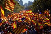 Milion ljudi na ulicama Barcelone: Želimo jedinstvenu Španiju