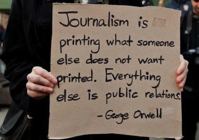 Journalism-Orwell