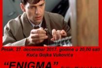 """Petog dana 2. Festivala antifašističkog filma na repertoaru je film """"ENIGMA"""""""