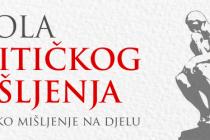 Otvoren natječaj za prijem treće generacije studenata Škole kritičkog mišljenja u Mostaru