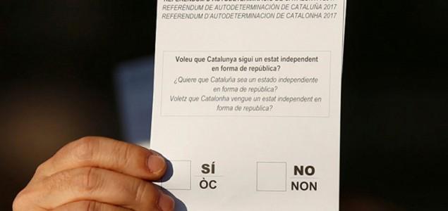 Katalonski zvaničnici: Stotine povrijeđenih zbog policijske brutalnosti
