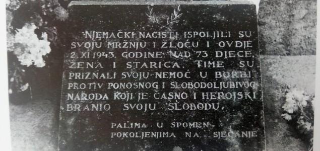 """TEO GRANČIĆ: """"Živi li danas sjećanje na žrtve iz Velike Bare"""""""
