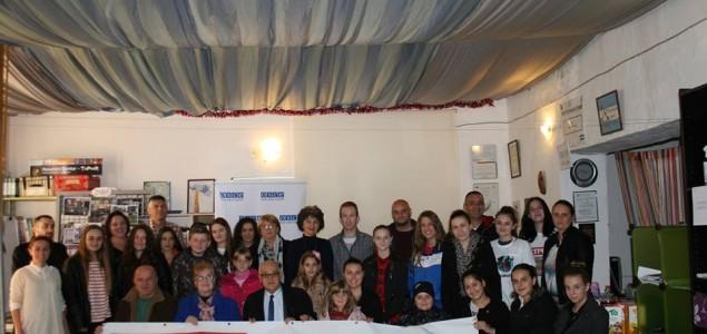 Supergrađani/supergrađanke i Misija OSCE-a u Bosni i Hercegovini obilježili Međunarodni dan tolerancije u Mostaru