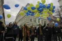 Performans u Sarajevu povodom Dana državnosti