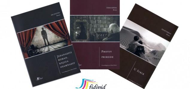 Predstavljanje knjiga tri norveška suvremena književnika