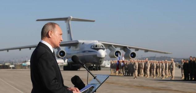 Počelo povlačenje ruske vojske iz Sirije