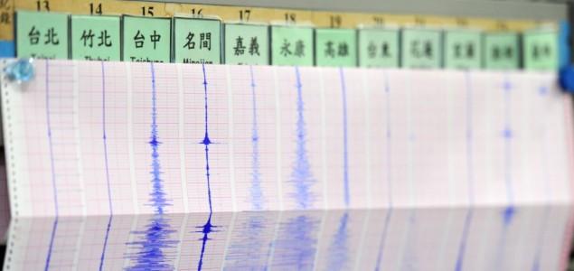 Potres jačine 5,7 stupnjeva pogodio Tajvan