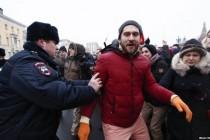 Rusija: Hapšeni učesnici protesta, priveden i Navaljni