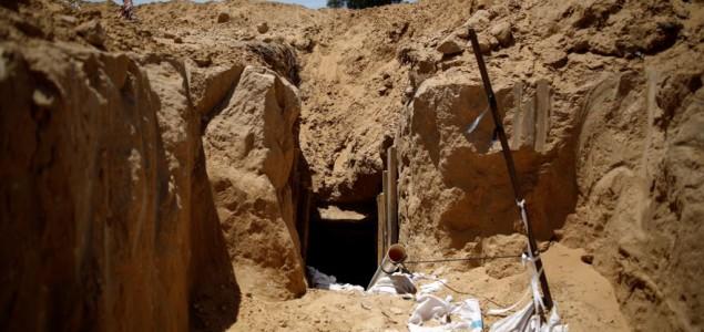 Izaelska vojska srušila tunel Hamasa u pojasu Gaze