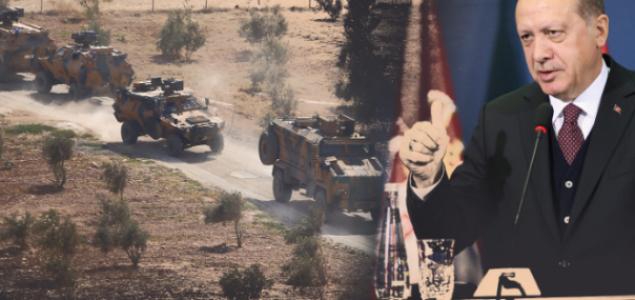 Agresija turske vojske na Siriju