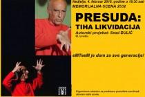 """""""PRESUDA…"""" u humanitarnoj akciji"""