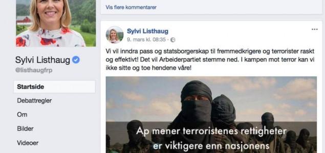 """""""Facebookgate"""" u Norveškoj"""