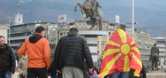 Predsednik Makedonije odbacuje sporazum o promeni imena, protesti u Skoplju