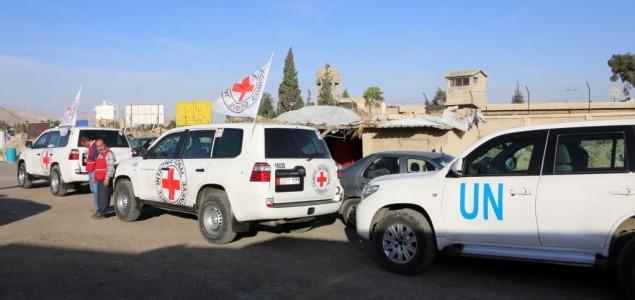 UN optužila Siriju i Rusiju zbog granatiranja humanitarnog konvoja