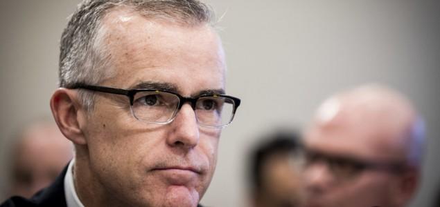 Smijenjen zamjenik direktora FBI-a Andrew McCabe