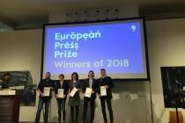 Dragan Bursać dobitnik nagrade European Press Prize 2018.