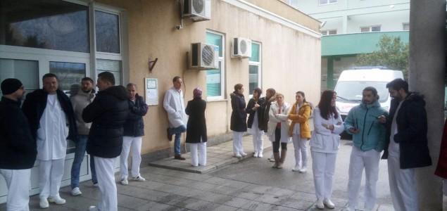 Ljekari u HNK od jutros u generalnom štrajku, primaju samo hitne slučajeve