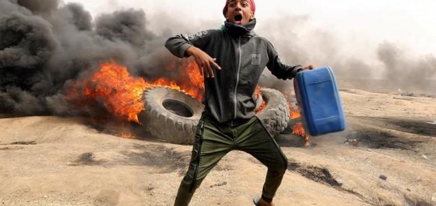 Masovni protest na granici Gaze, ubijena četiri Palestinca