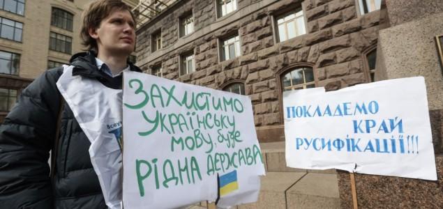 Na ukrajinskom jezičkom bojnom polju, neki vojnici mijenjaju stranu