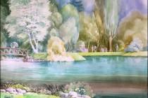 Izložba akvarela Seada Čerkeza