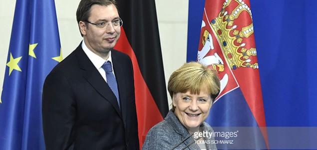 Vučić se sastaje sa Angelom Merkel