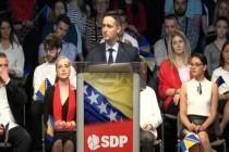 Denis Bećirović kandidat SDP-a: Bićemo  bedem pred kojim će pasti neprijatelji BiH