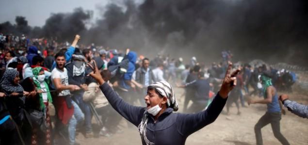Izraelci pucali na palestinske demonstrante, 1.100 povrijeđenih