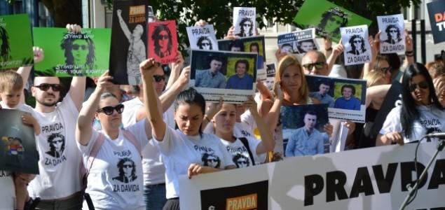 Miting podrške «Pravda za Davida»: UJEDINJENI U BORBI PROTIV NEPRAVDE
