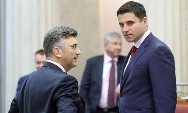 Plenković kratko razgovarao sa Bernardićem u Saboru