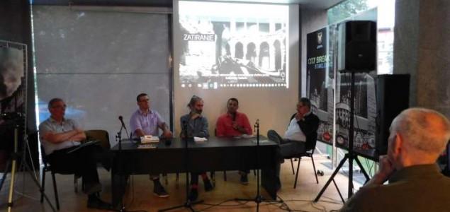 """Održana tribina i prezentacija narativa """"Zatiranje istorije i sjećanja"""" (FOTO)"""