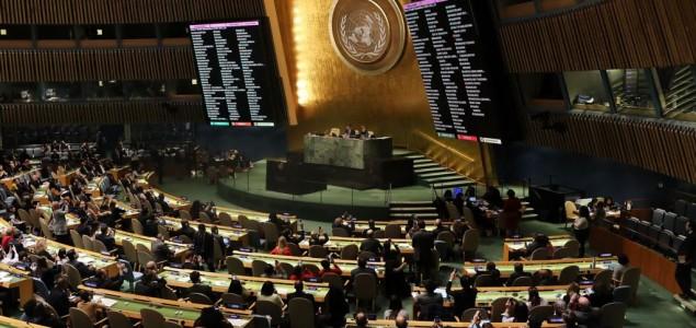 Generalna skupština UN osudila Izrael za nasilje u Gazi