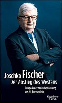 Joschka Fischer, naslovnica knjige 'Sunovrat Zapada' (1)