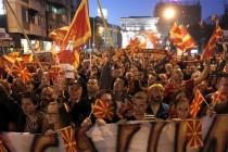Policija suzavcem rasterala demonstrante u Skoplju